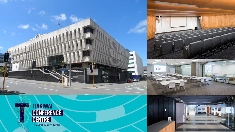 A collage of National Library of New Zealand photos