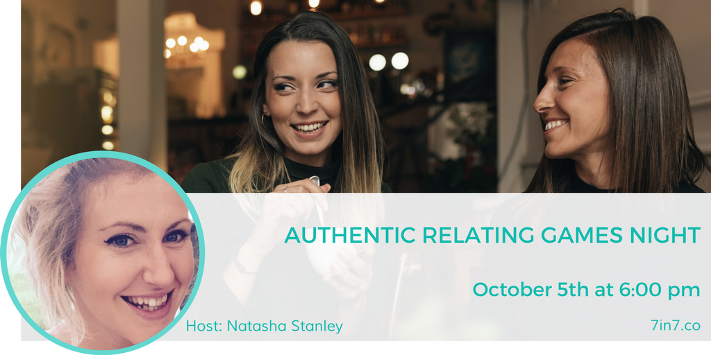 Authentic Relating Games Night at 7in7 Digital Nomad Conference