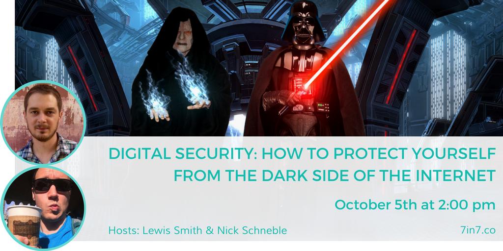 Digital Security Workshop at 7in7 Digital Nomad Conference